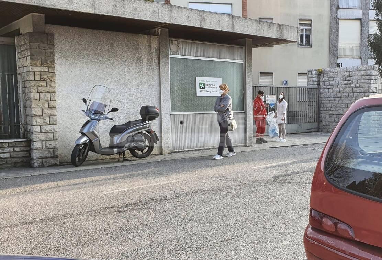 Ospedale Alzano isolato