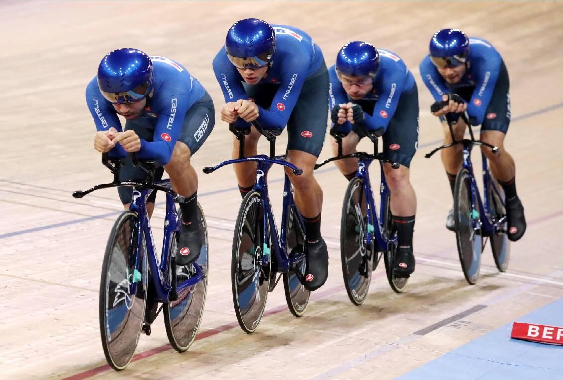 Simone Consonni - Campionati del Mondo ciclismo su pista 2020