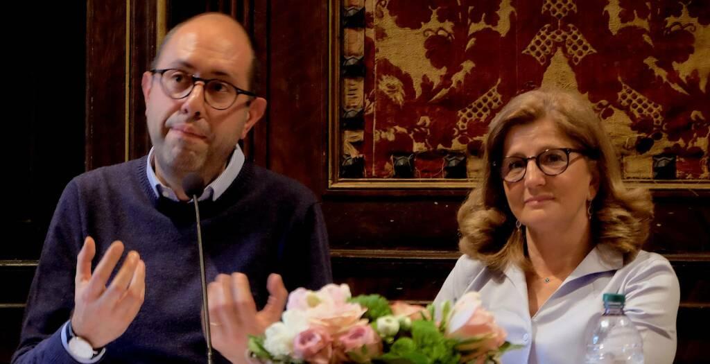 Tommaso Nannicini ed Elena Carnevali