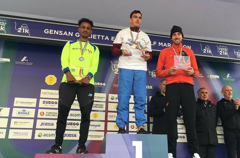 Xavier Chevrier - Campionati Italiani Mezza Maratona 2020