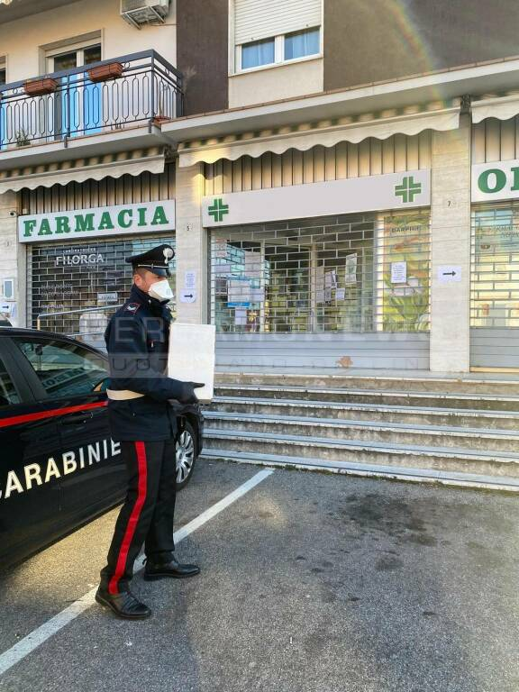 carabinieri almenno san salvatore coronavirus