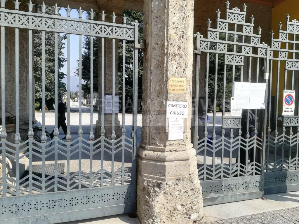 Coronavirus Covid cimitero pompe funebri