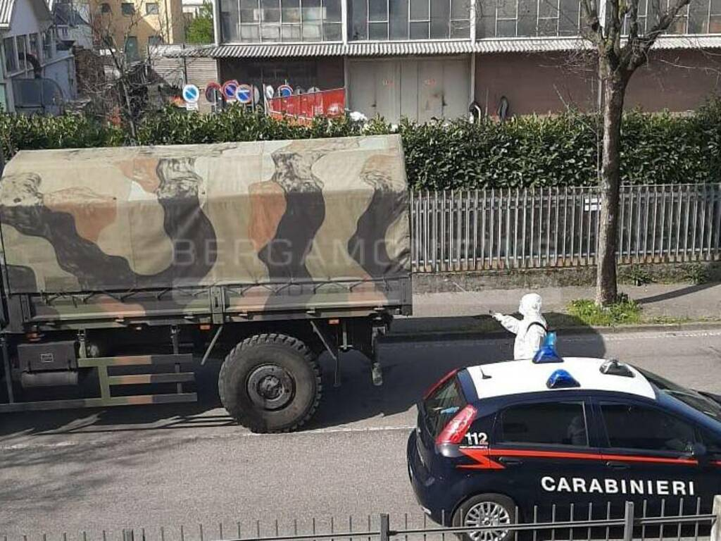 L'esercito torna a Ponte San Pietro