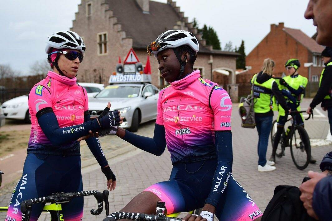 Teniel Campbell e Ilaria Sanguineti - Omloop van het Hageland 2020