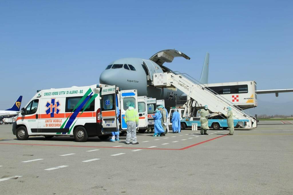 trasporto aereo pazienti