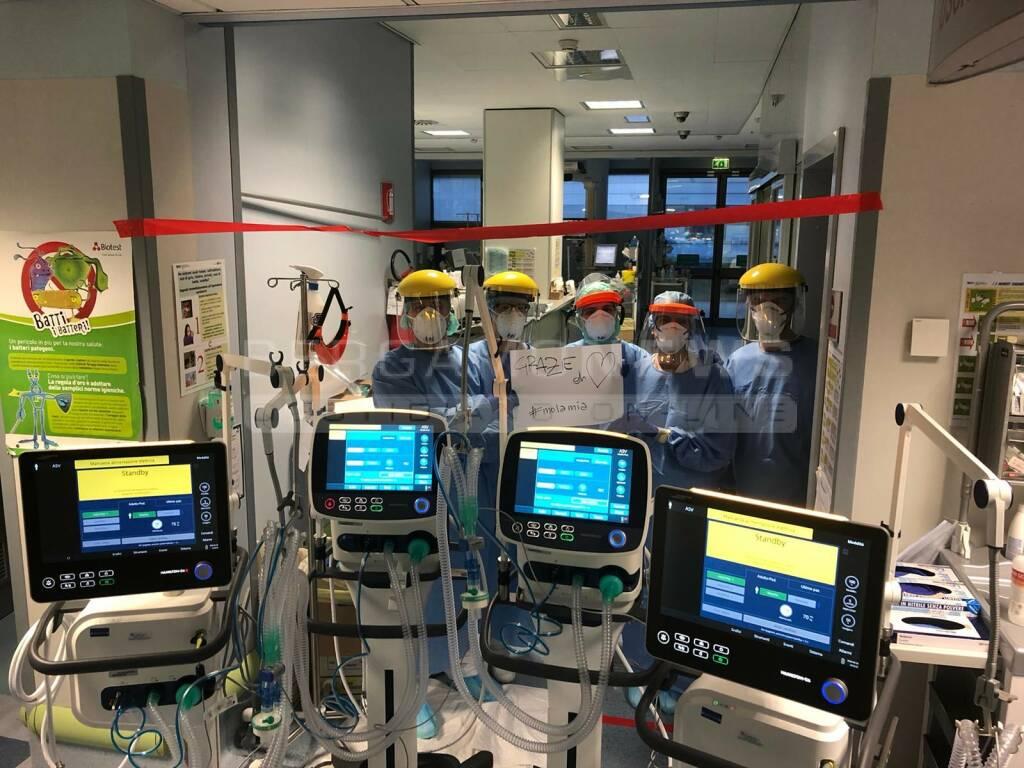 ventilatori e medici