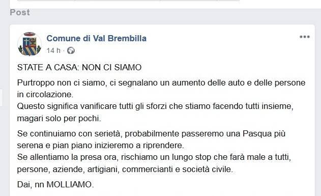 Brembilla facebook
