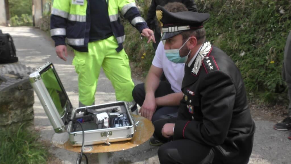 carabinieri drone