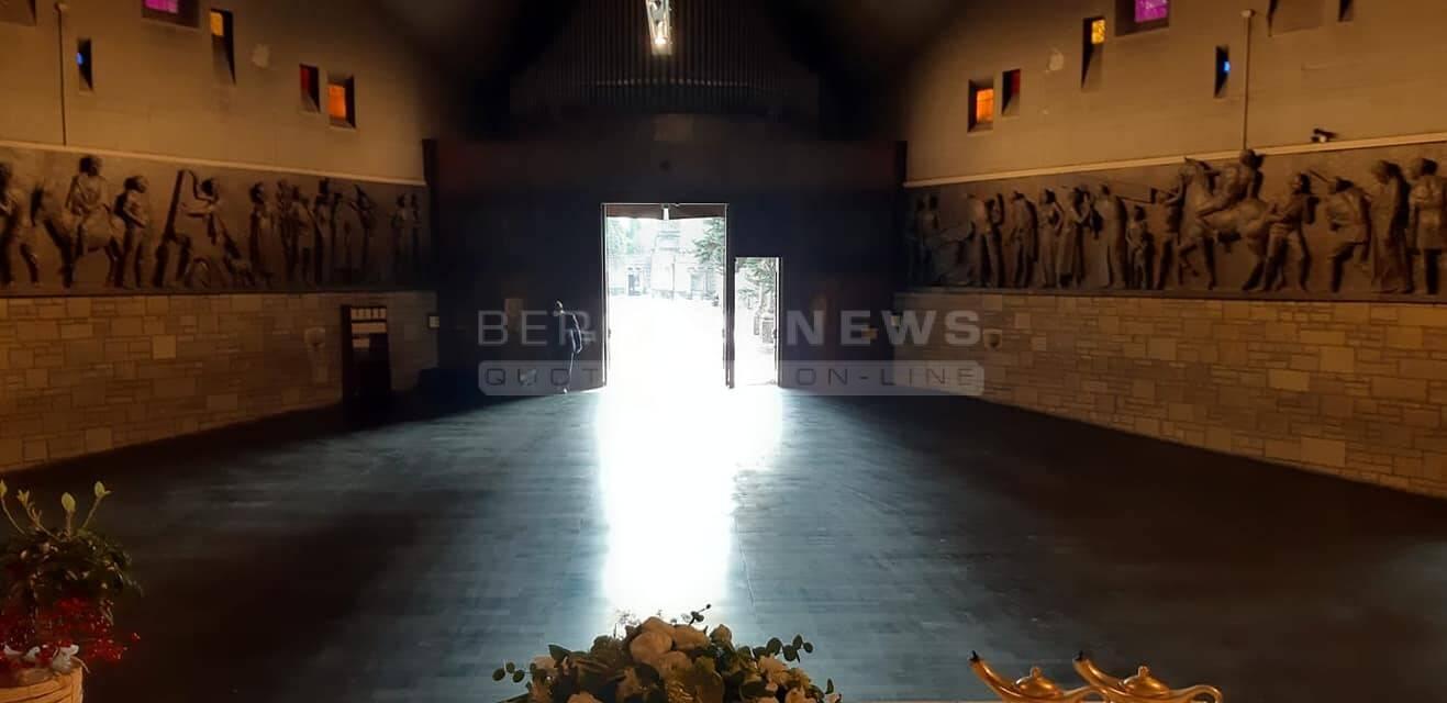 chiesa del cimitero di bergamo
