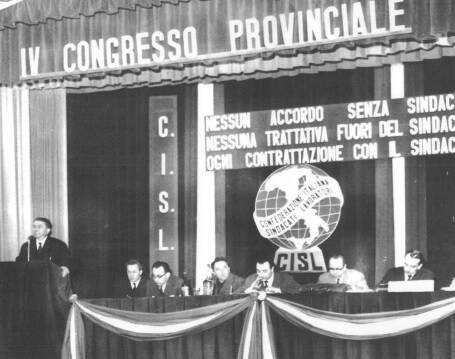 cisl storica congresso provinciale 1962