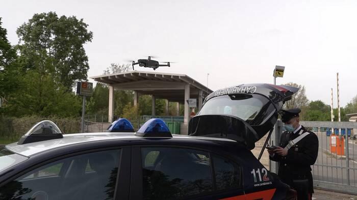droni carabinieri