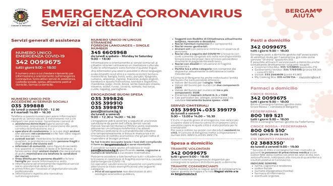 servizi covid Bergamo