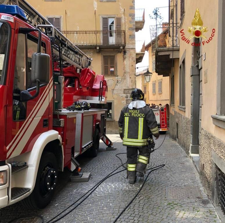Incendio Clusone