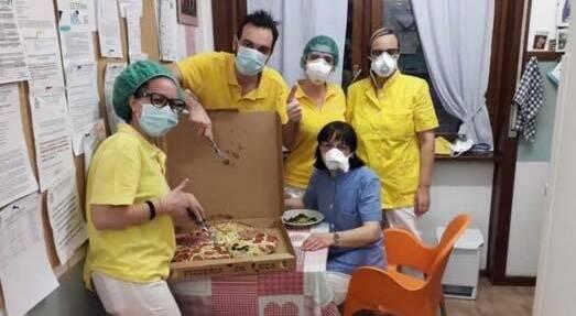 pizza regalo Luca