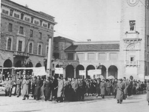 sciopero dalmine 1954