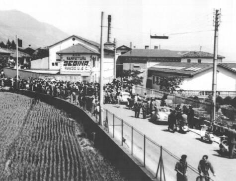 sciopero della sebinia 1961