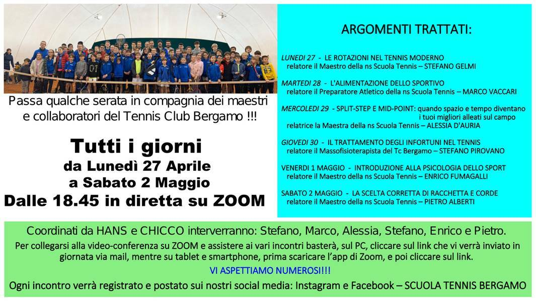 Tennis Club Bergamo incontri