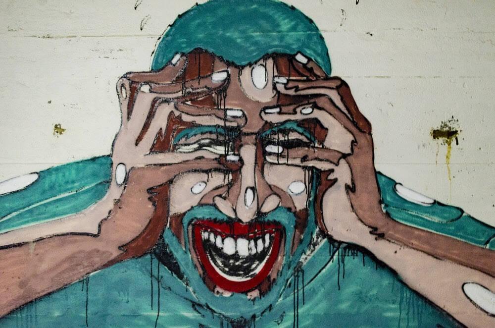 arte paura (foto Aaron Blanco Tejedor da Unsplash)
