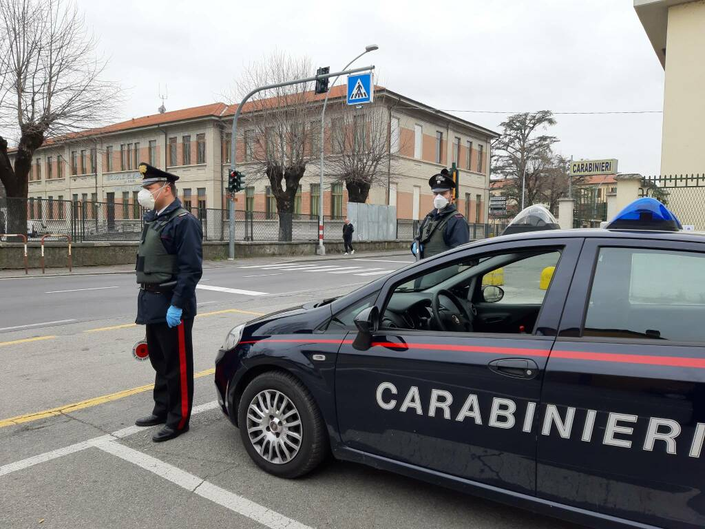 carabinieri fara gera d'adda