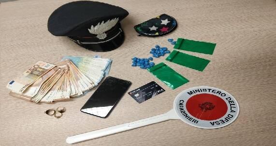 Carabinieri Villa d'Almè arresto