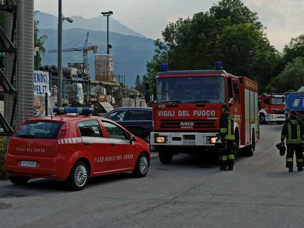 Incendio Songavazzo