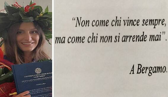 Dedica laurea Bergamo