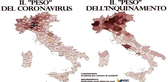 Inquinamento e Covid