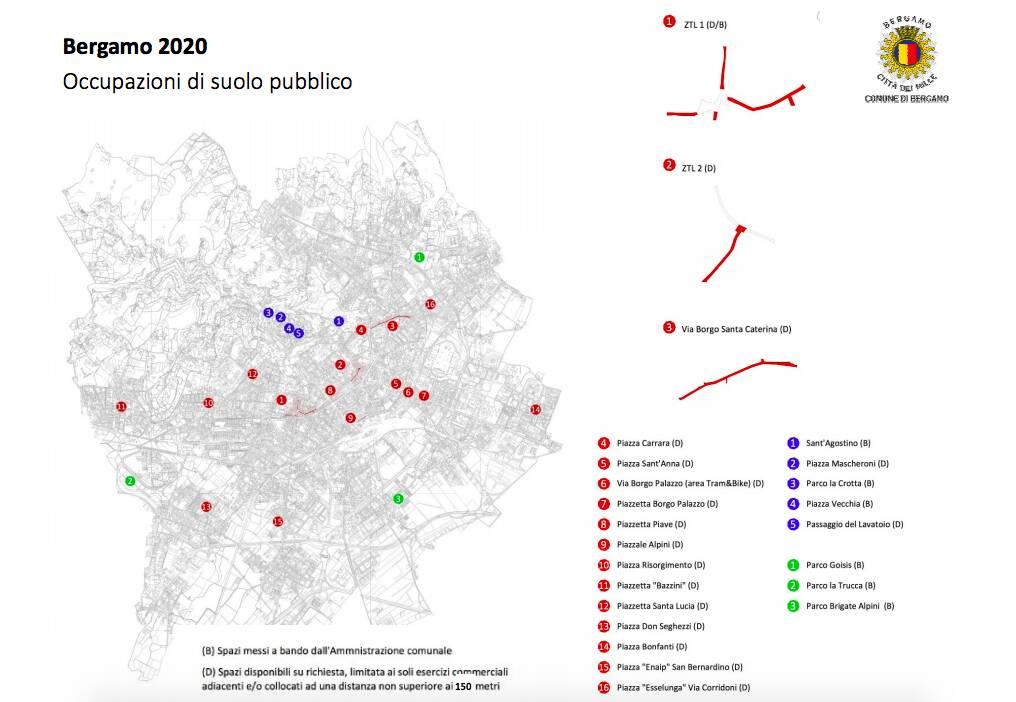 mappa estivi 2020