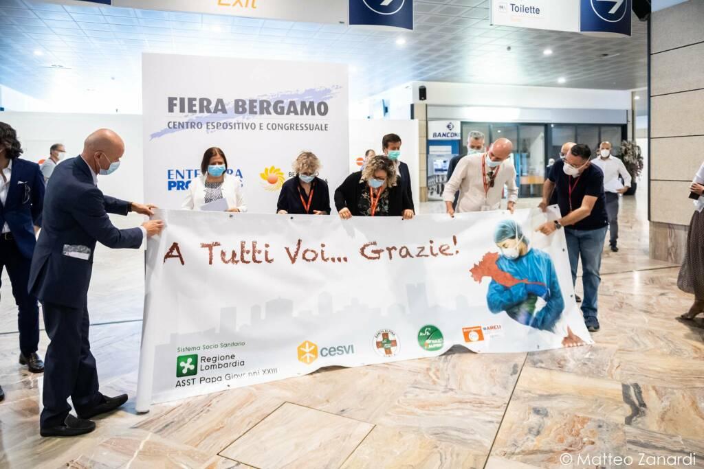 Ospedale da campo: anche Emergency lascia Bergamo
