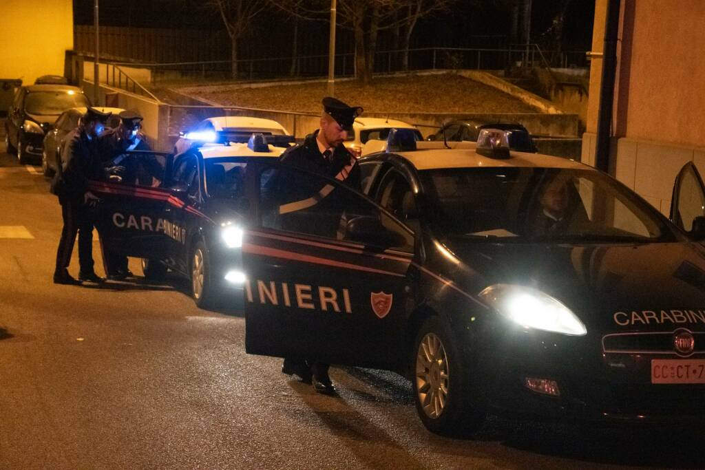 carabinieri sera dalmine