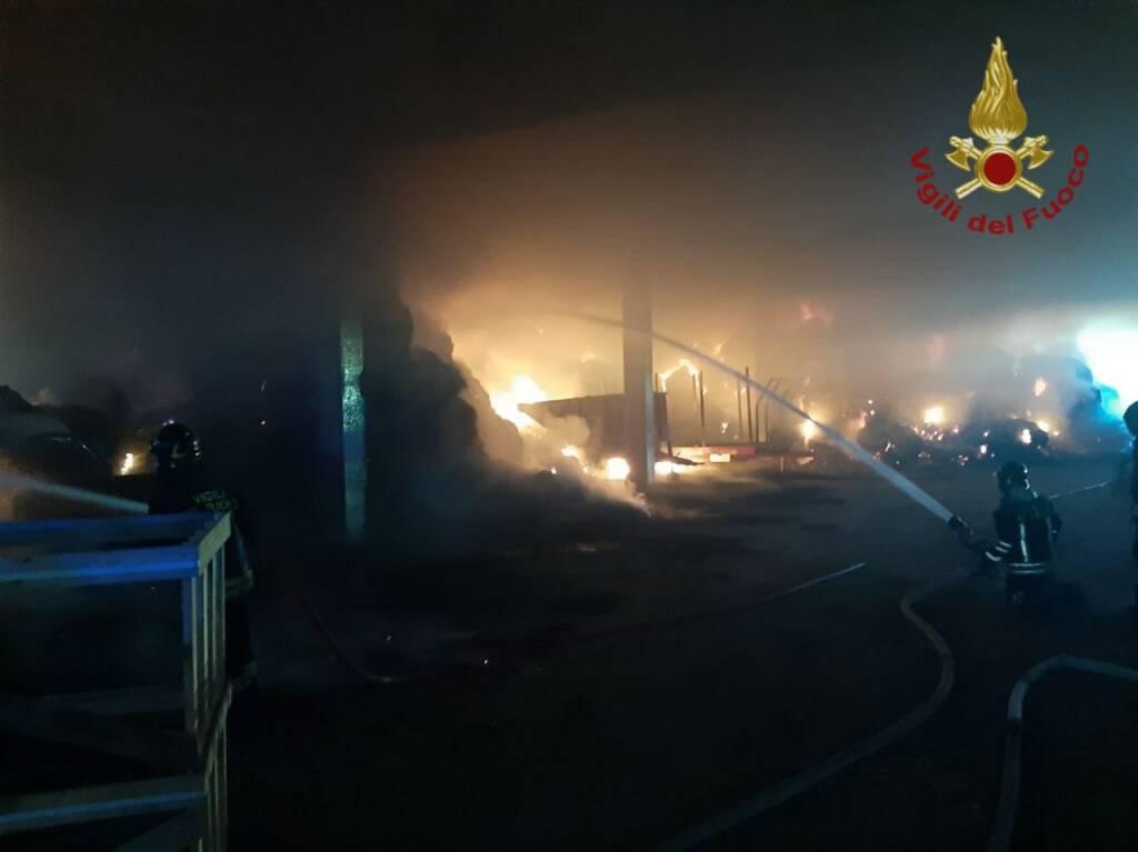 Incendio Brusaporto