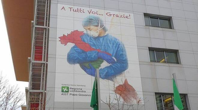 gigantografia ospedale