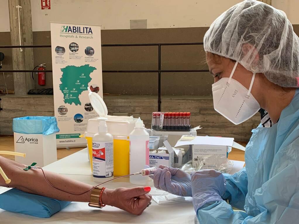 Habilita protagonista del progetto test sierologici gratuiti a Bergamo