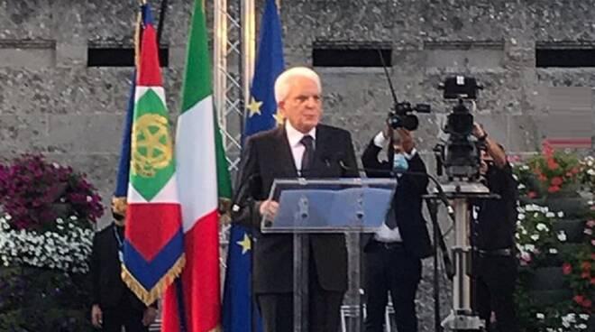 Mattarella a Bergamo: