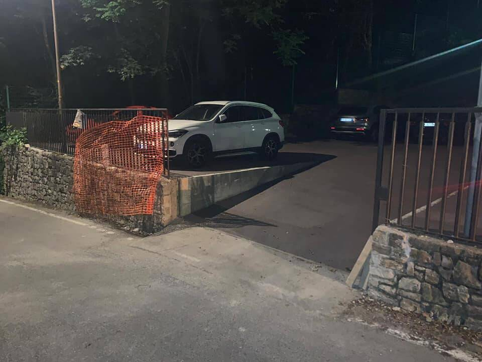 parcheggio via cavagnis