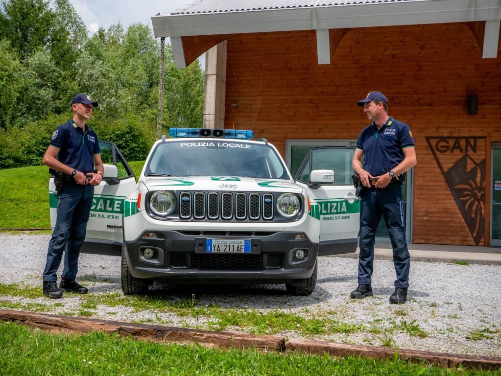 Polizia Locale Unione insieme sul Serio