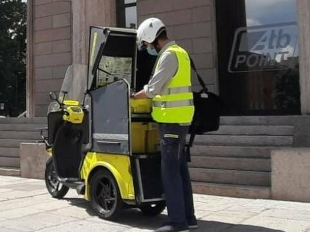 Poste Italiane tricicli elettrici