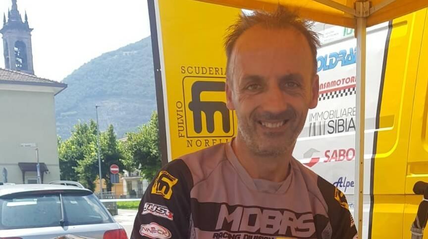 1 - Fausto Scovolo, 3° classificato Top Class Major su Yamaha 125 cc 2T.