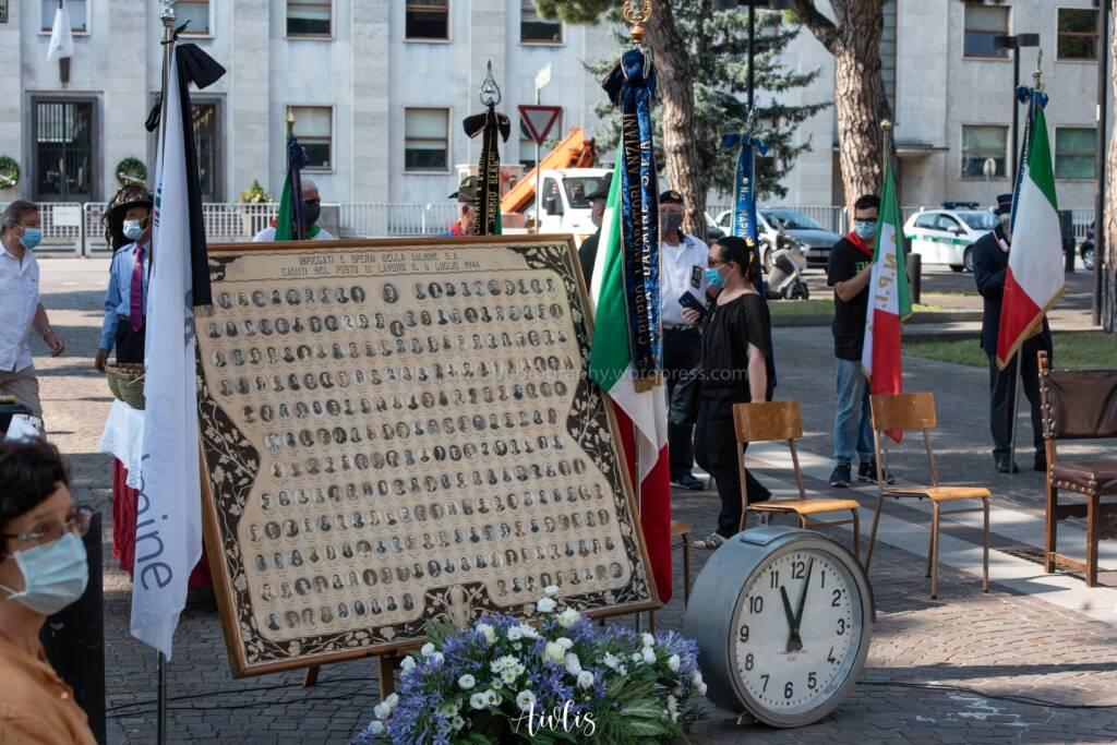 Dalmine, messa in ricordo delle vittime del bombardamento del 1944