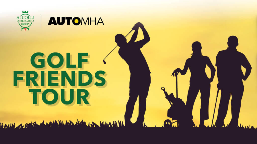 Golf Friends Tour 2020: Automha punta sullo sport