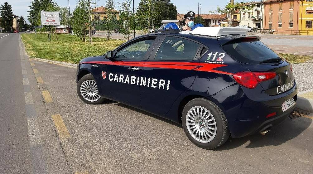 Carabinieri mascherina