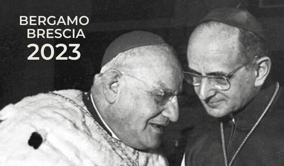 Due Papi santi per Bergamo e Brescia 2023