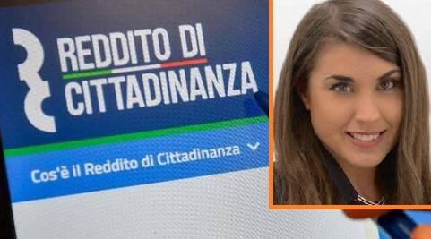 Rebecca Frassini reddito cittadinanza