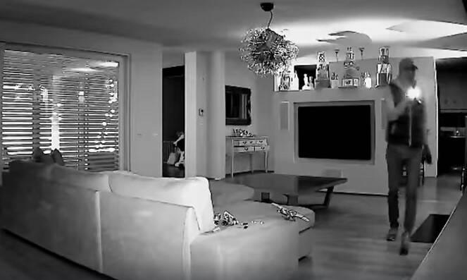 Ladro in casa di Francesco Facchinetti