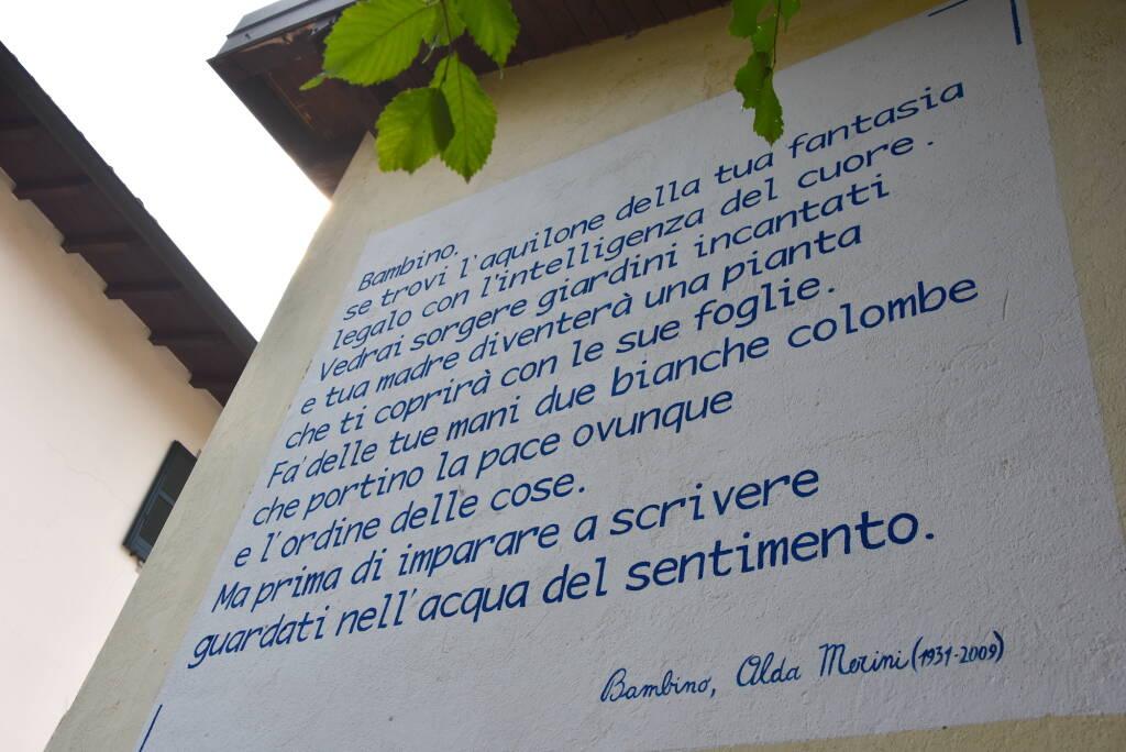 Poesia sui muri a Paladina