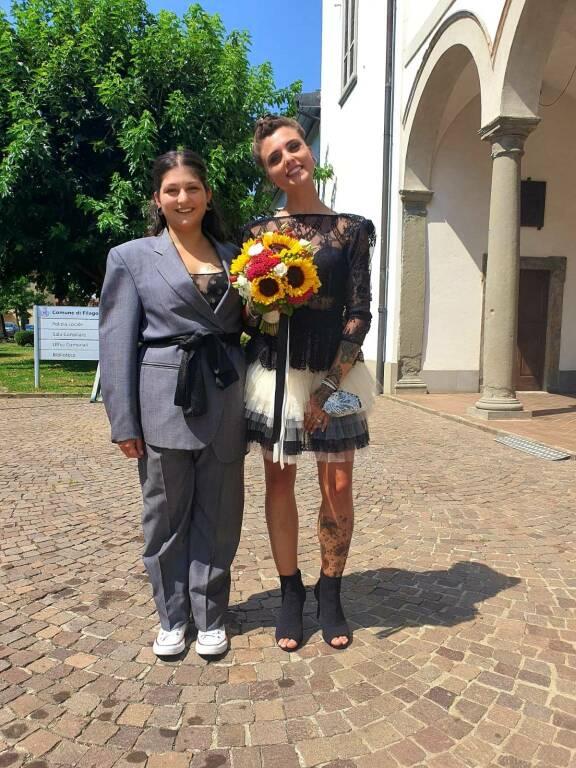 Rossella Silvia matrimonio Filago