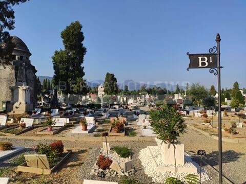 B1 campo covid al cimitero
