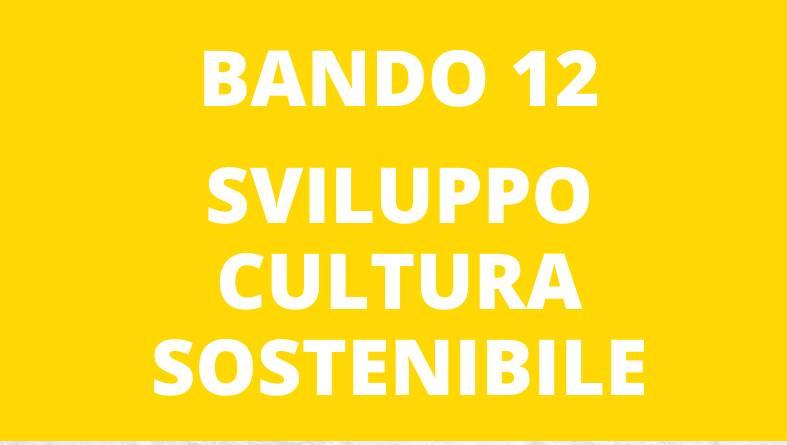 Bando per la promozione di progetti d'innovazione culturale