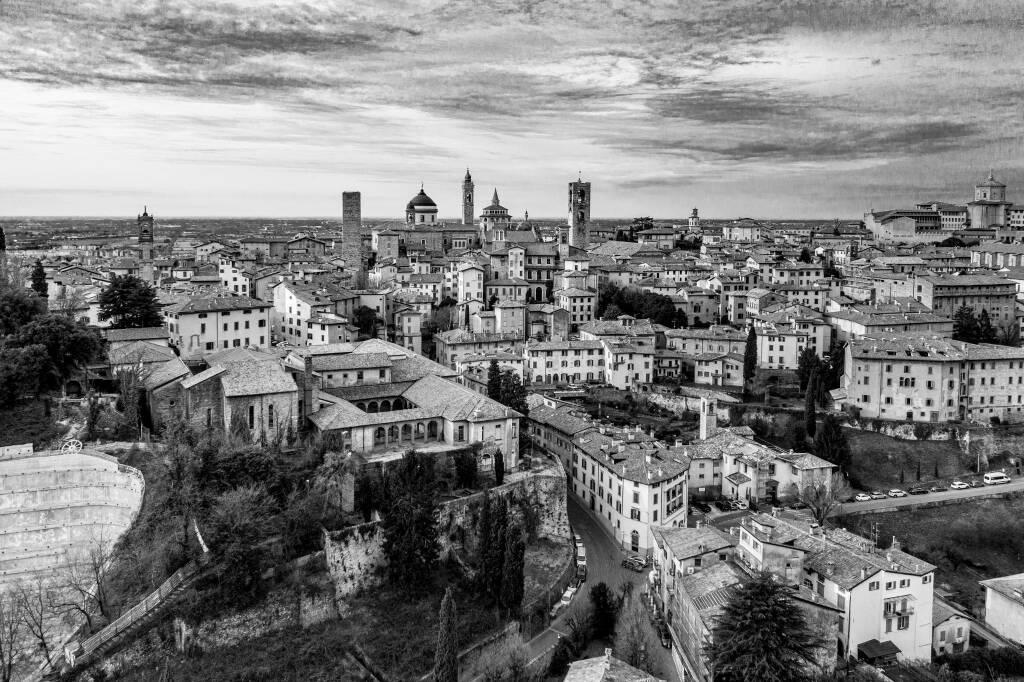 Bergamo dall'Alto - foto di Alex Persico