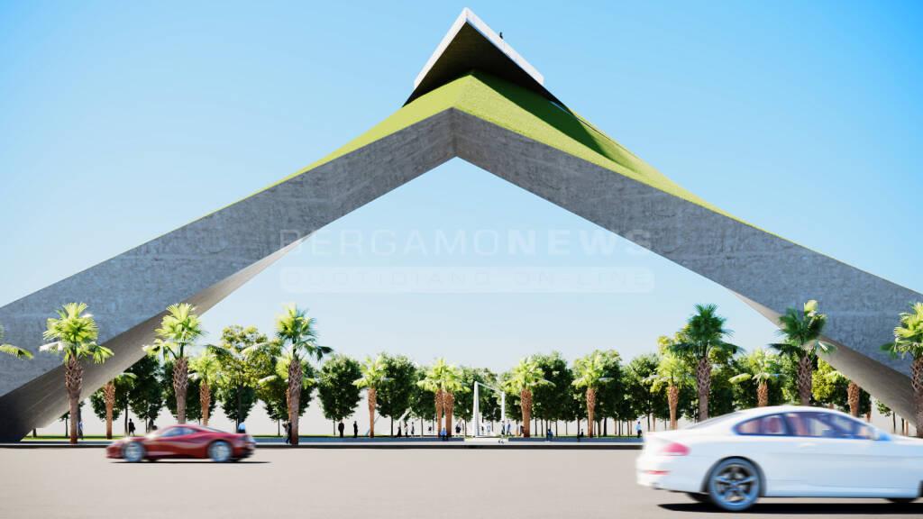 Concorso Internazionale Architettura Silicon Valley - Progetto selezionato architetto Bergamasco